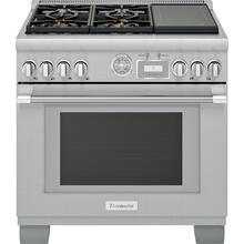 Dual Fuel Professional Range 36'' Pro Grand® Commercial Depth Stainless Steel PRD364WIGU