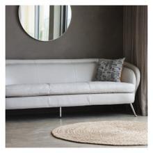 GA Tesoro Sofa Cream Leather