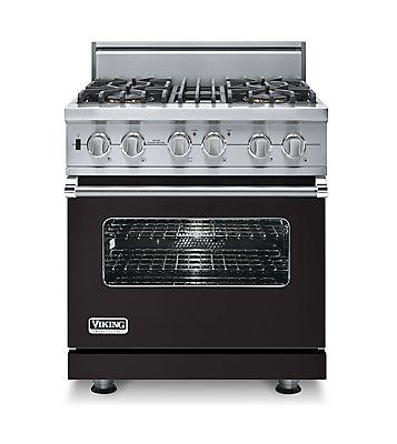 "30"" Custom Sealed Burner Dual Fuel Range, Natural Gas, No Brass Accent"