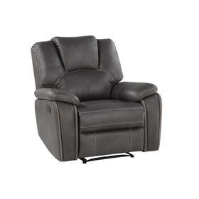 Katrine Manual Recliner Chair, Charcoal