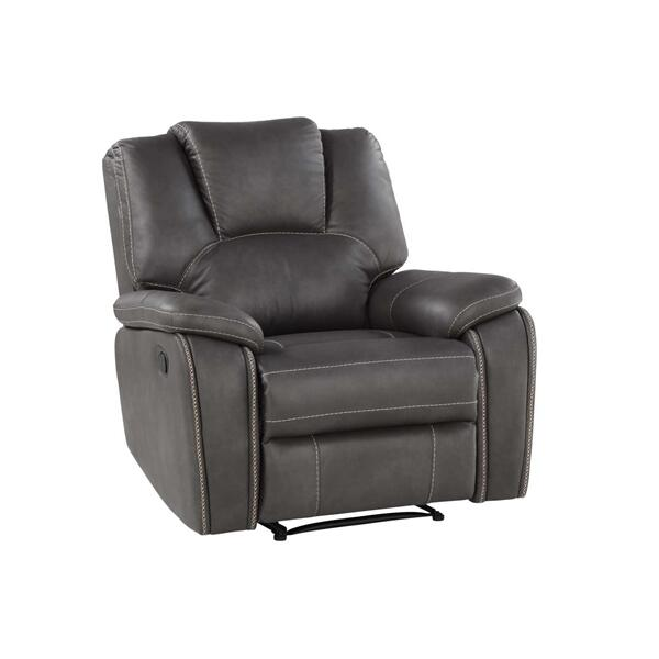 Katrine Manual Motion Chair, Charcoal