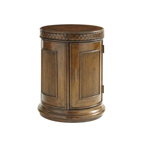 Belize Round End Table