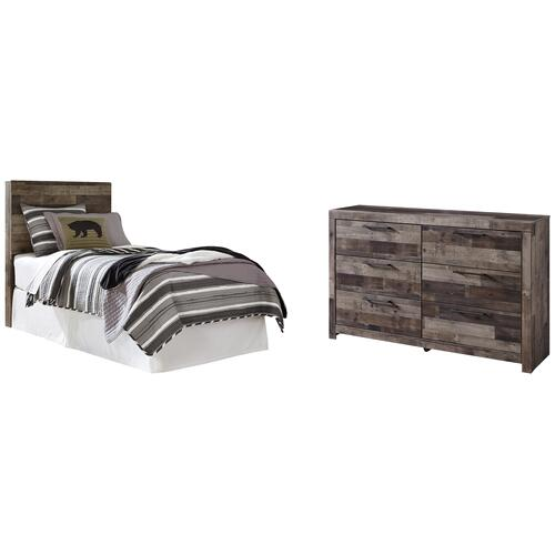 Ashley - Twin Panel Headboard With Dresser