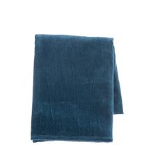 See Details - Blue Velvet Throw