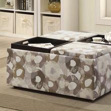 Urban Comfort Storage Ottoman