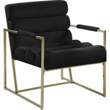 "See Details - Wayne Velvet Accent Chair - 26.5"" W x 28.5"" D x 32"" H"