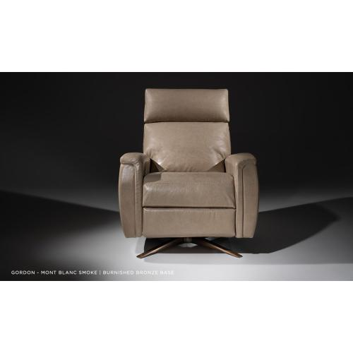 Gordon Adjustable Recliner - American Leather