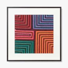 Bright Maze Series No 1 Wall Art