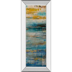 """Beyond The Sea Il"" By Erin Ashley Mirror Framed Print Wall Art"