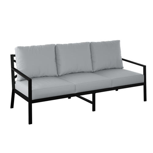 Accentrics Home - Outdoor Metal X-Back Sofa (2 of 2)