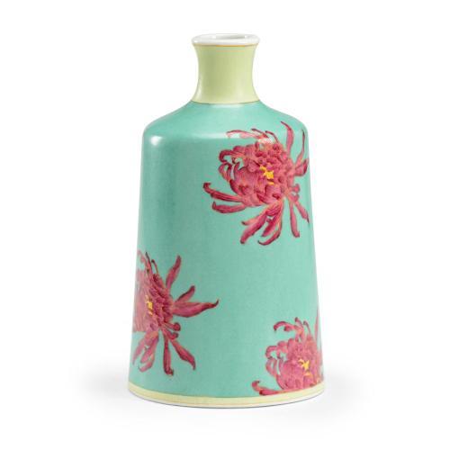 Chrysanthemum Vase - Green
