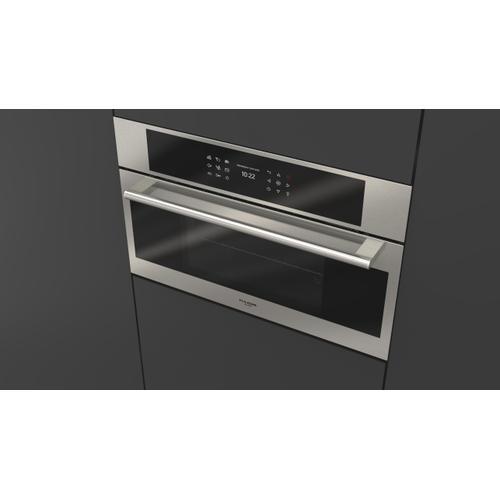 "Fulgor Milano - 30"" Combi Steam Oven - Stainless Steel"