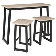 Waylowe Counter Height Dining Table and Bar Stools (set of 3) Product Image