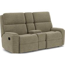 View Product - Rio Reclining Loveseat with Console
