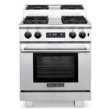 "30"" Titan Step-up Dual Fuel Gas Range"