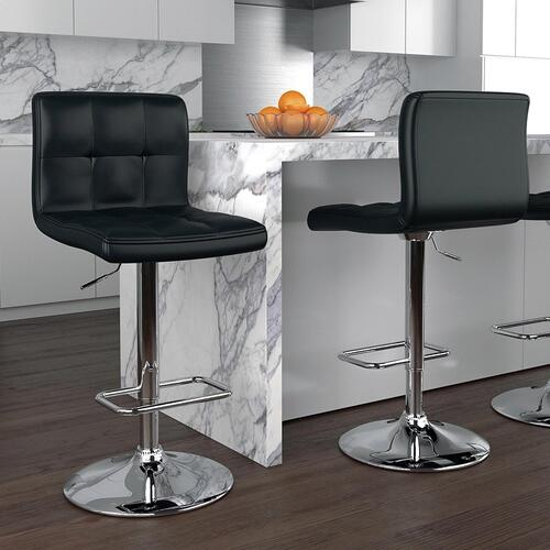Max Air Lift Stool, set of 2 in Black