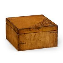 Raised Celtic veneer square box