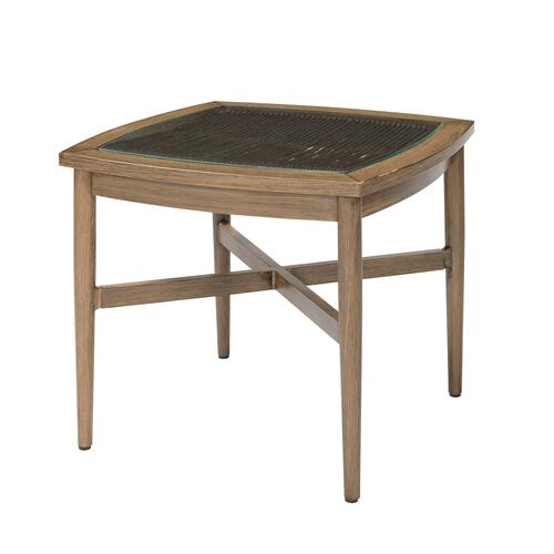 Zenith Outdoor End Table, Brown Ot1050-01