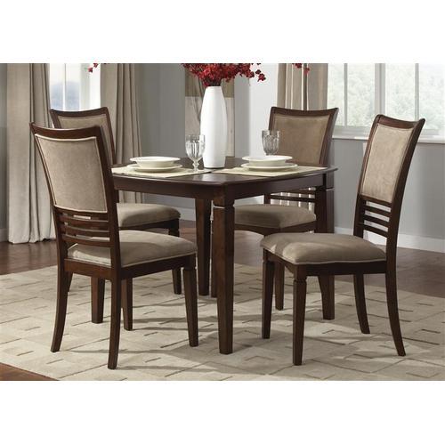 Liberty Furniture Industries - 5 Piece Square Leg Table Set
