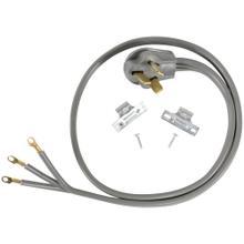 3-Wire Eyelet 50-Amp Range Cord, 6ft