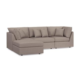 See Details - Beckham Outdoor Small Chaise Sectional