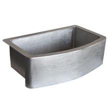 Rhapsody Farmhouse Sink in Brushed Nickel