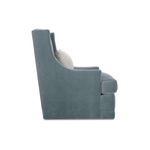 Lindsay Swivel Chair - no nailhead trim