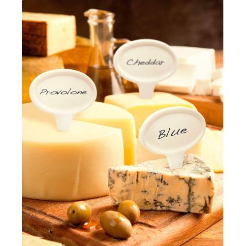 Ceramic Cheese Marker Set