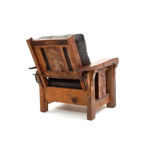 Sequoia Lounge Chair - Shown In Morris Style