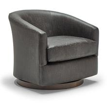 See Details - Swivel Barrel Chair