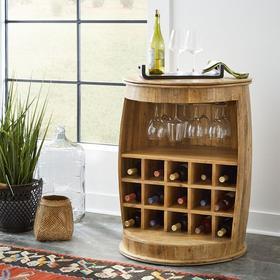 Accent Wine Barrel
