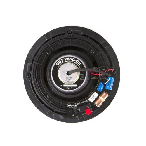 Klipsch - CDT-2650-C II In-Ceiling Speaker