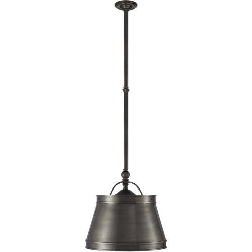 Visual Comfort CHC5101BZ-BZ E. F. Chapman Sloane 2 Light 16 inch Bronze Hanging Shade Ceiling Light