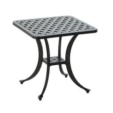 "Bonita Weave 21"" Square Side Table"