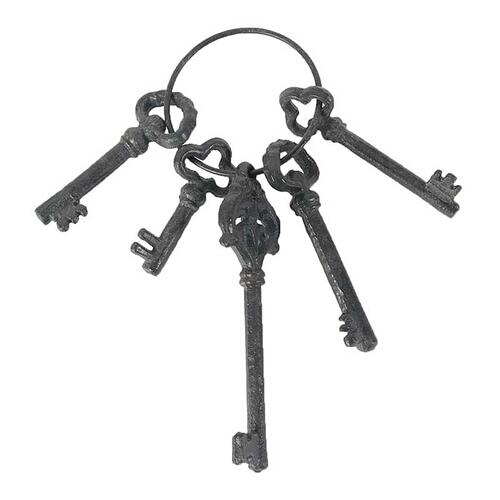 Decorative Keys,Set of 5