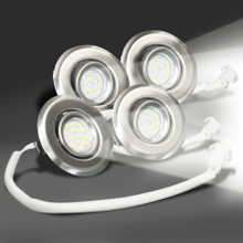 Set of Four(4) 3 Watt - LED Lights
