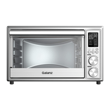 Galanz 0.9 Cu Ft Digital Toaster Oven with Air Fry in Stainless Steel
