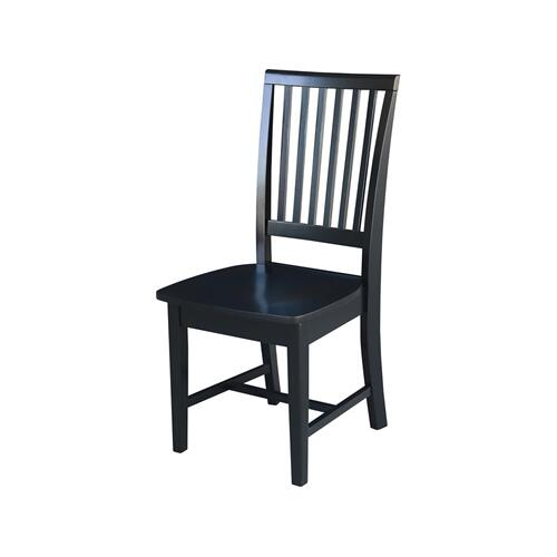 Mission Chair in Black