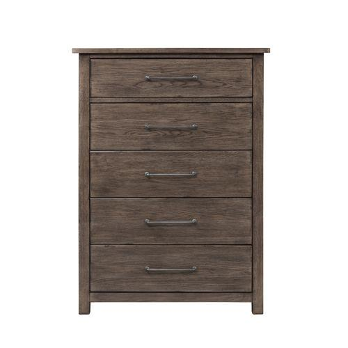 Liberty Furniture Industries - Queen Panel Bed, Dresser & Mirror, Chest, Night Stand