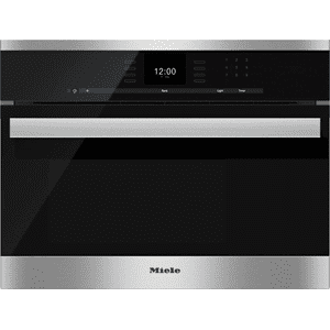 MieleDG 6600 - Built-in steam oven with a large text display and SensorTronic controls for extra convenience.
