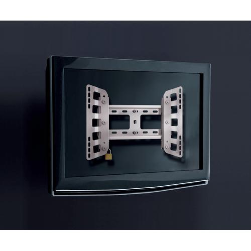 Plano 100 Medium Fixed TV Mount, Silver