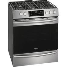 SCRATCH & DENT  Frigidaire Gallery 30'' Front Control Gas Range with Air Fry