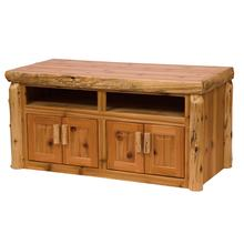 View Product - Widescreen Television Stand - Natural Cedar