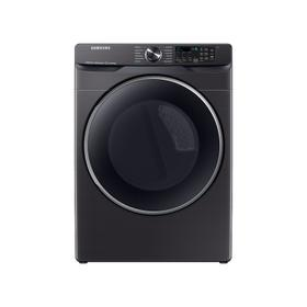 7.5 cu. ft. Smart Gas Dryer with Steam Sanitize+ in Brushed Black