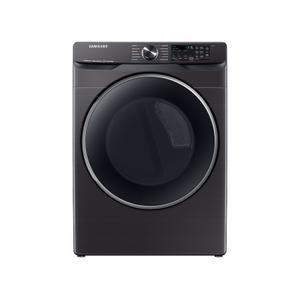 Samsung Appliances7.5 cu. ft. Smart Gas Dryer with Steam Sanitize+ in Brushed Black