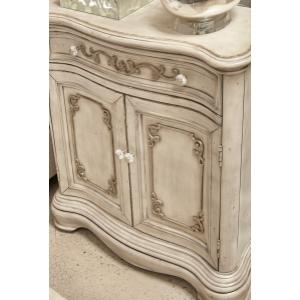 Accentrics Home - Esprit Weathered White Hall Chest