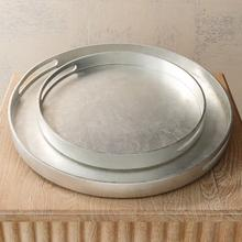 Nouveau Luxe Tray-Silver Leaf-Sm