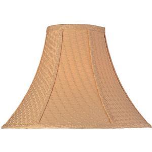 """Woven Bell Shade - 6""""x16""""bx12""""sh"""