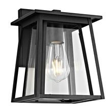 See Details - Stern Outdoor Wall Lantern - Black