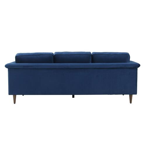 Tov Furniture - Porter Navy Velvet Sofa